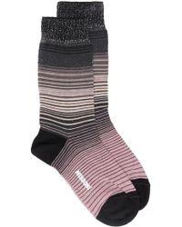 M Missoni - Striped Socks - Lyst