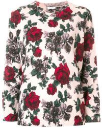 Equipment - Floral Print Jumper - Lyst