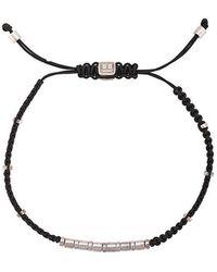 Tateossian - Makramee-Armband mit Perlen - Lyst