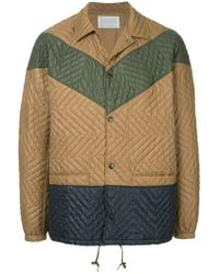 Kolor - Quilted Lightweight Jacket - Lyst