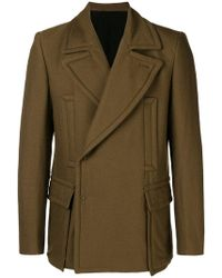 Ann Demeulemeester - Military Jacket - Lyst