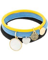 Marc Jacobs - Medallion Pony Bracelet Set - Lyst