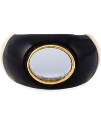 Aurelie Bidermann - 18kt Gold Plated 'diana' Ring - Lyst