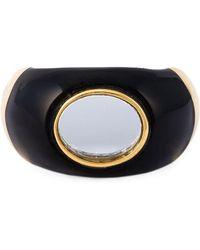 Aurelie Bidermann - 18kt Gold Plated 'diana' Ring - Lyst