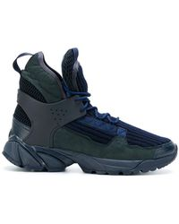 Undercover - Ribbed Hi-top Trainers - Lyst