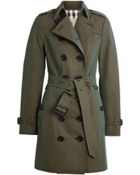 Burberry - Sandringham Fit Cotton Gabardine Trench Coat - Lyst