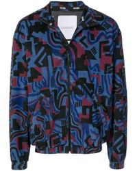 Martine Rose - Geometric Bomber Jacket - Lyst