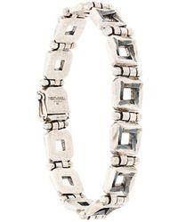 Northskull - Square Link Bracelet - Lyst