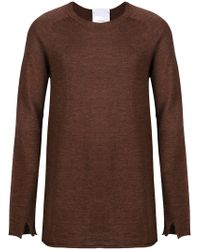 Lost and Found Rooms - Crew Neck Sweater - Lyst