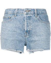 J Brand - Cutoff Jean Shorts - Lyst