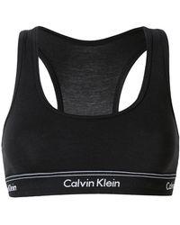 Calvin Klein Jeans - Logo Waistband Bralette - Lyst