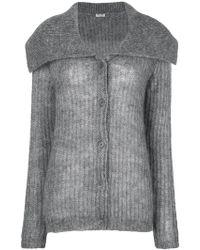 f14b702a17e Lyst - Women s Miu Miu Knitwear Online Sale