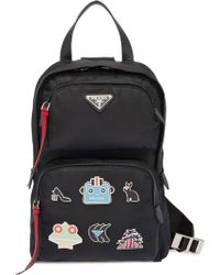 Prada - One-shoulder Backpack - Lyst