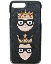 Dolce & Gabbana - Crown Patch Iphone 7 Plus Case - Lyst