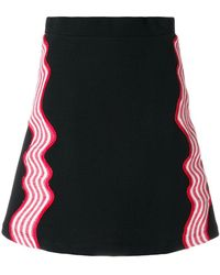House of Holland - A-line Hypnotic Skirt - Lyst