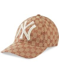 Gucci - Embroidered Coated-canvas Baseball Cap - Lyst