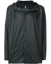 Rains - Snap Fastening Raincoat - Lyst