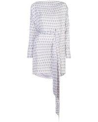 Thomas Wylde - Henna Stained Dress - Lyst