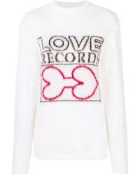 AALTO - Love Records Rollneck Jumper - Lyst