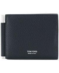 Tom Ford - Embossed Logo Wallet - Lyst