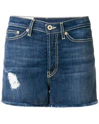 Dondup | Denim Fitted Shorts | Lyst