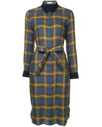 Guild Prime - Checked Shirt Dress - Lyst