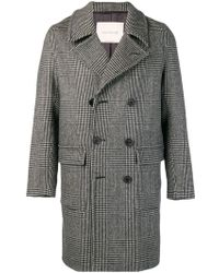 Mackintosh - Double-breasted Check Coat - Lyst