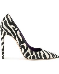 DSquared² - Zebra Print Court Shoes - Lyst