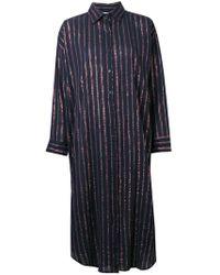 Mes Demoiselles - Striped Shirt Dress - Lyst