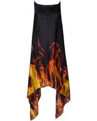 Gareth Pugh - Cowl Neck Flame Dress - Lyst