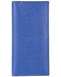 Valextra - - Vertical Flat Cardholder - Men - Calf Leather - One Size - Lyst