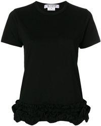 Comme des Garçons - Gathered Hem T-shirt - Lyst
