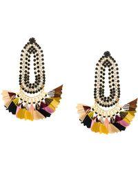 Gas Bijoux - Trevise Feather Earrings - Lyst