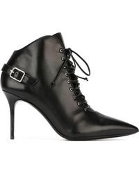 Giuseppe Zanotti - Buckle Detail Ankle Boots - Lyst