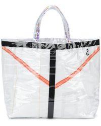 Comme des Garçons | Pvc Coated Tote Bag | Lyst