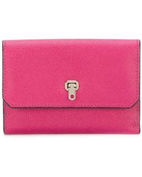 Valextra - Small Continental Wallet - Lyst