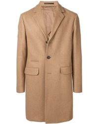 Mauro Grifoni - Single-breasted Fitted Coat - Lyst