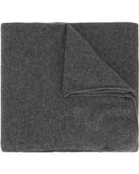 Zanone - Knitted Scarf - Lyst