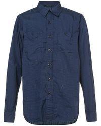 Engineered Garments - Polka Dotted Shirt - Lyst