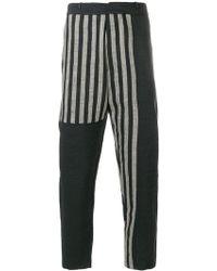 Tom Rebl | Straight Leg Printed Trousers | Lyst