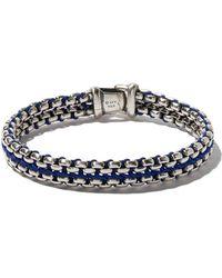 David Yurman - Sterling Silver Woven Cuff Bracelet - Lyst