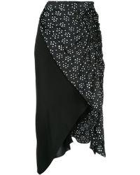 Kitx - Sacred Hand Drape Skirt - Lyst