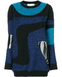 Gianluca Capannolo | Patched Marble Knit Jumper | Lyst