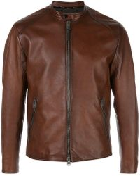 aec97356cd7 COACH - Icon Racer Jacket - Lyst