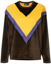 Kolor - Colour Block Sweatshirt - Lyst
