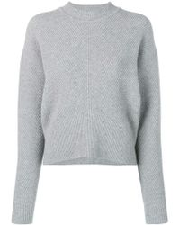Sportmax - Long-sleeve Fitted Sweater - Lyst