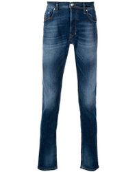 DIESEL - Washed Out Skinny Jeans - Lyst