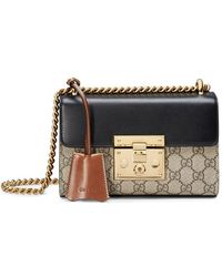 Gucci - Padlock GG Supreme Shoulder Bag - Lyst