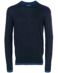 Alexander McQueen   Contrasting Hem Detail Sweater   Lyst