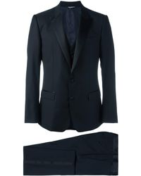 Dolce & Gabbana - Three-piece Dinner Suit - Lyst